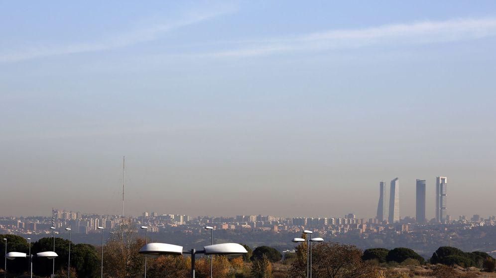 Foto: Contaminación registrada en Madrid en diciembre del año pasado.