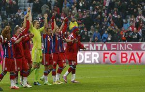 El Bayern le hace 8 al Hamburgo y en Leverkusen se vive una locura