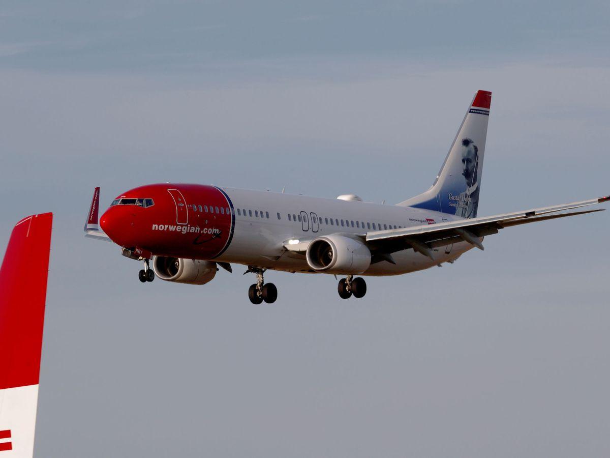 Foto: Avión aterrizando. (Reuters)