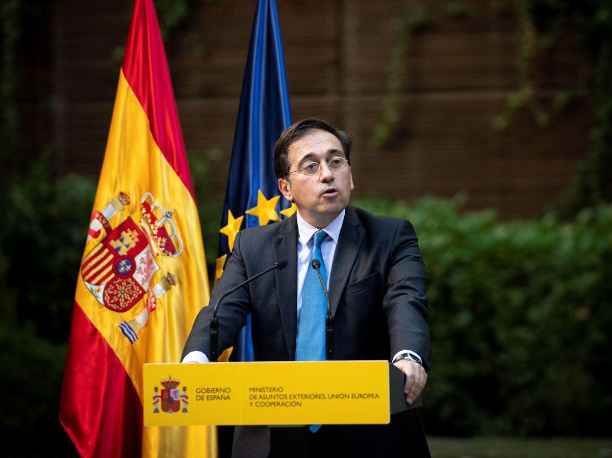 Foto: El ministro de Exteriores, José Manuel Albares. (EFE)