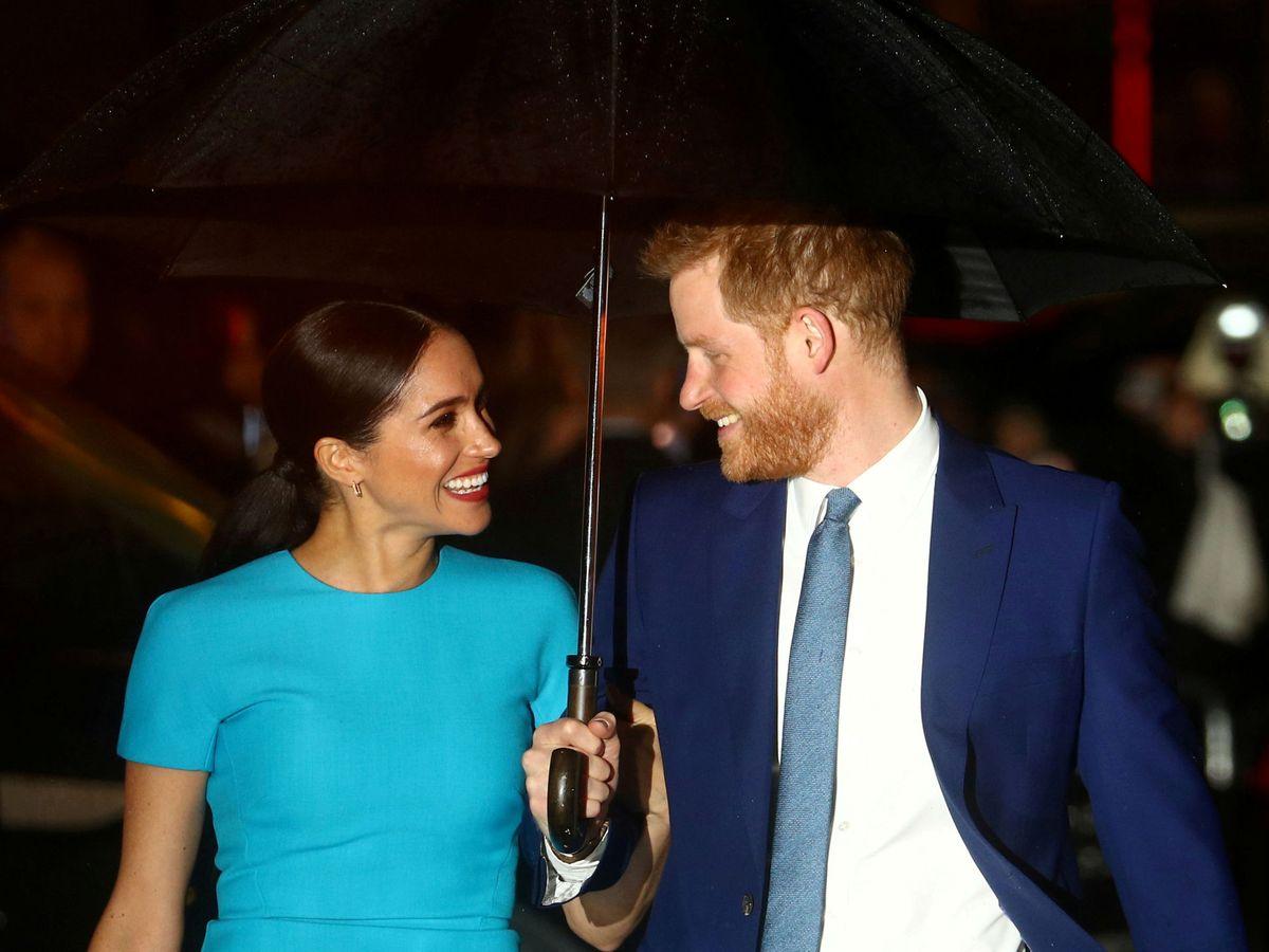 Foto: Meghan y Harry, en una imagen de archivo. (Getty)
