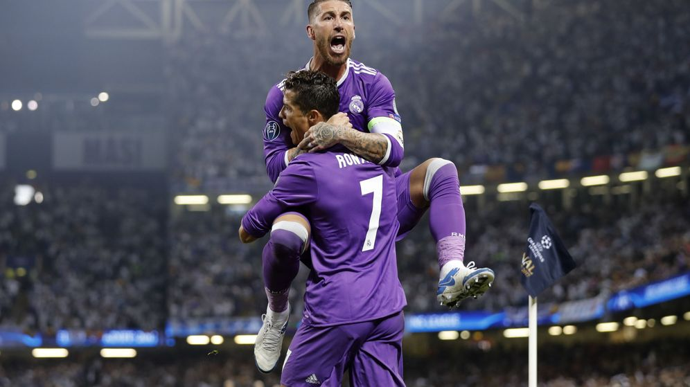 Foto: Sergio Ramos y Cristiano Ronaldo, en la pasada final de Champions. (Reuters)