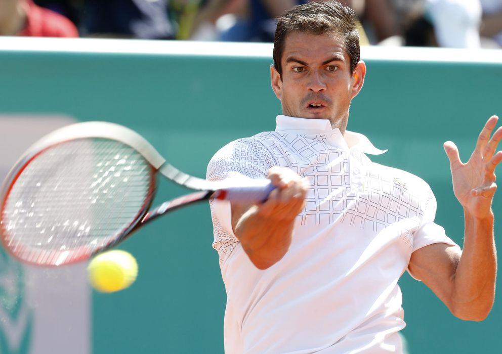 Foto: Guillermo García López, en un torneo (AP).