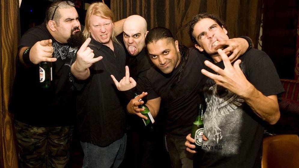 Foto: La banda de metal Nervecell