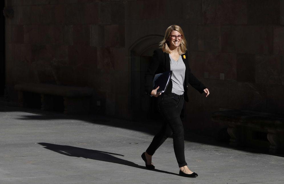 Foto:  La 'consellera' de la Presidència y portavoz del Govern, Elsa Artadi. (EFE)