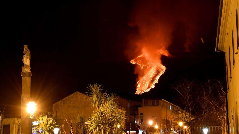 El Etna, en erupción (EFE/Orietta Scardino)