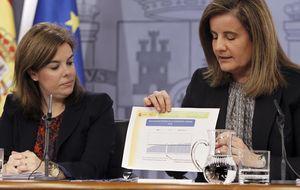 El Gobierno congelará el salario mínimo para 2014 en 645,30 euros
