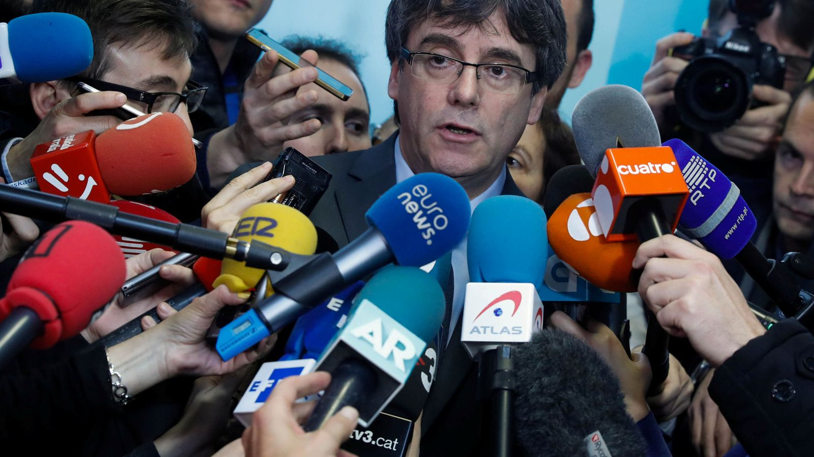 Foto: Carles Puigdemont el pasado día 24 en Bruselas. (Reuters)