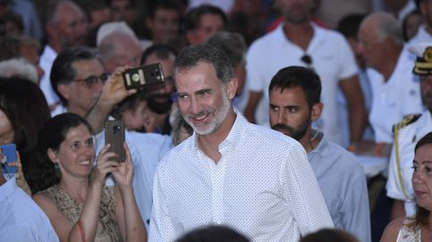 Felipe VI: baño de masas en la entrega de los trofeos de  la Copa del Rey MAPFRE