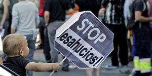 Foto: Stop Desahucios, el colectivo que pone en jaque a los bancos