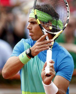 Foto: Nadal  deslumbra en Roland Garros: luce un reloj de medio millón de euros