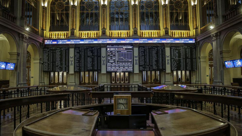 Foto: Interior de la Bolsa de Madrid / EFE