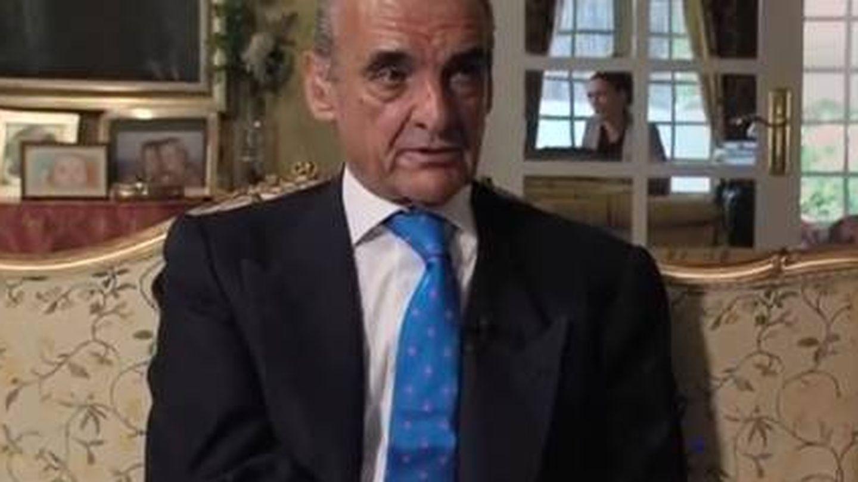 Mario Conde, en el programa 'Crónicas subterráneas' (Telemadrid)