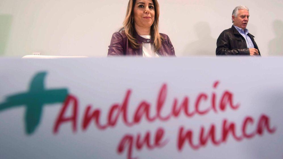 Foto: La secretaria general del PSOE de Andalucía, presidenta de la Junta y candidata a la reelección, Susana Díaz. (EFE)
