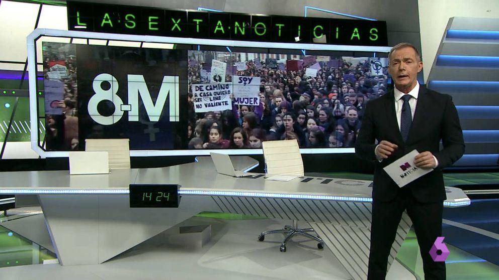 Los hombres se ponen, por primera vez, al frente de 'La Sexta noticias'