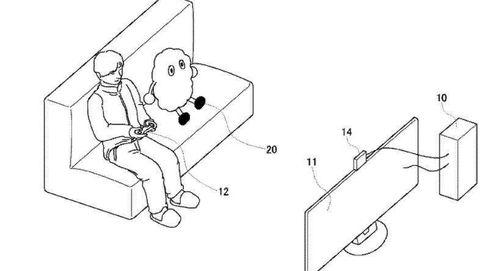 Sony patenta un robot para acompañarte mientras juegas a videojuegos