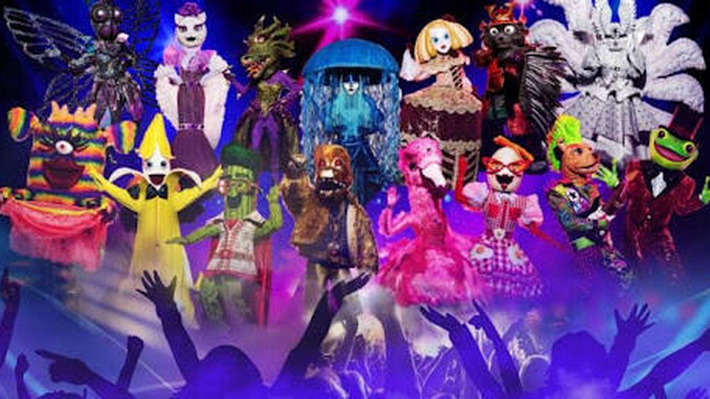 Las máscaras de la segunda temporada de 'Mask Singer'. (Antena 3)
