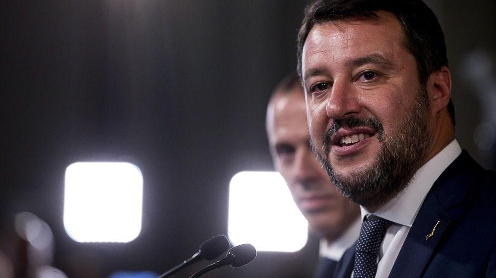 Foto: Matteo Salvini, tras reunirse con Mattarella en Roma. (EFE)