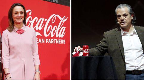 Marcos de Quinto y Sol Daurella: soo podía quedar uno en el grupo Coca-Cola