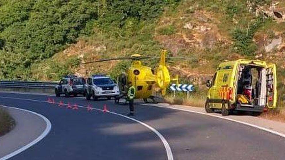 Un hombre es evacuado en helicóptero por la picadura de abejas en Lugo