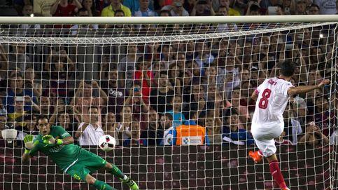 El Camp Nou jalea a Claudio Bravo, pero ya es muy tarde para evitar su fuga