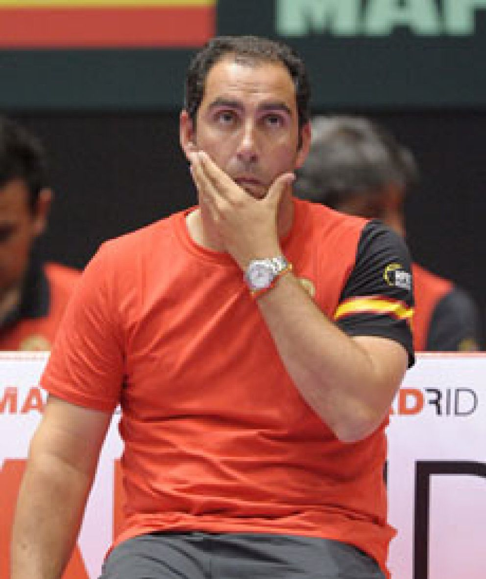 Foto: Albert Costa continuará al frente del equipo español de Copa Davis