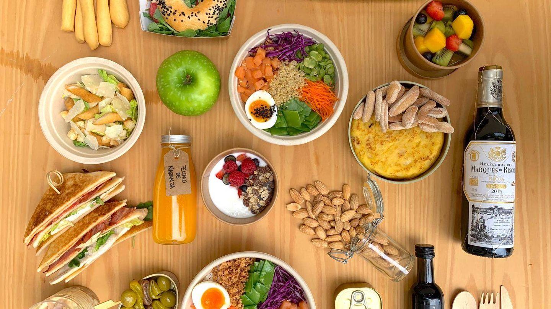 Lunchbox de Samantha de España. (Cortesía)