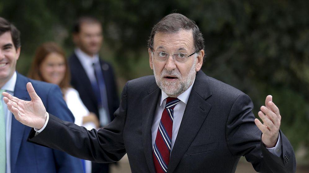 Foto: Mariano Rajoy durante una recepción en la Moncloa. (REUTERS/Andrea Comas)