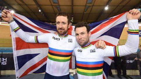 Wiggins y Cavendish ganan un oro de película en el Mundial de Ciclismo en Pista