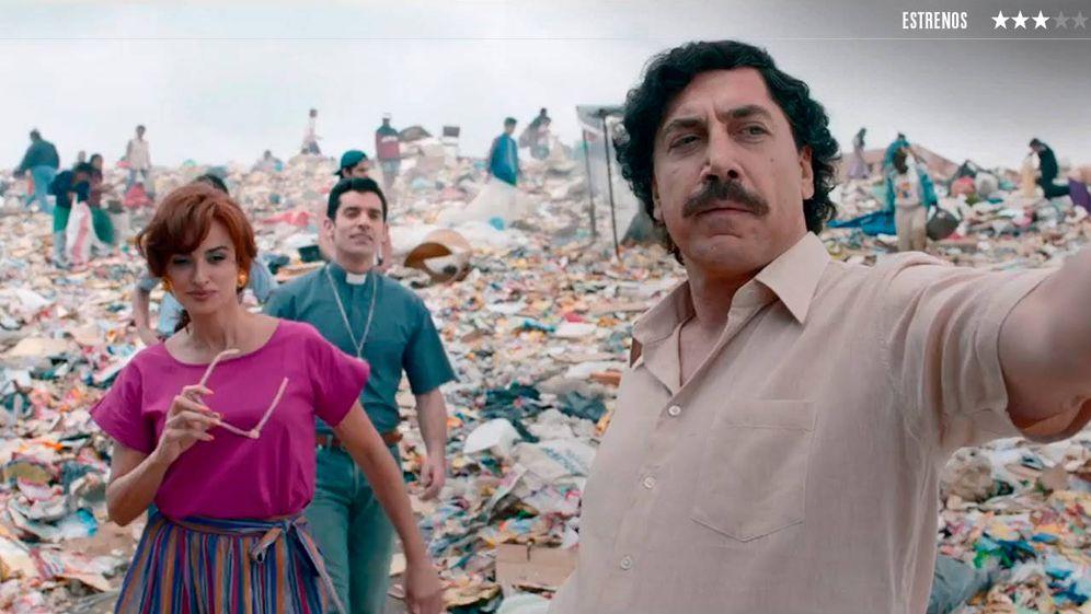 Foto: Javier Bardem y Penélope Cruz, en una escena de la película.