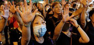 Post de Hong Kong prohíbe protestas programadas para el 1 de octubre, día nacional de China