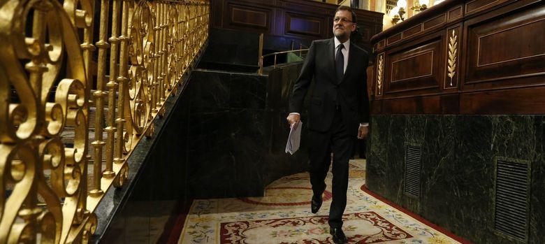 Foto: Mariano Rajoy en el Congreso de los Diputados (EFE)