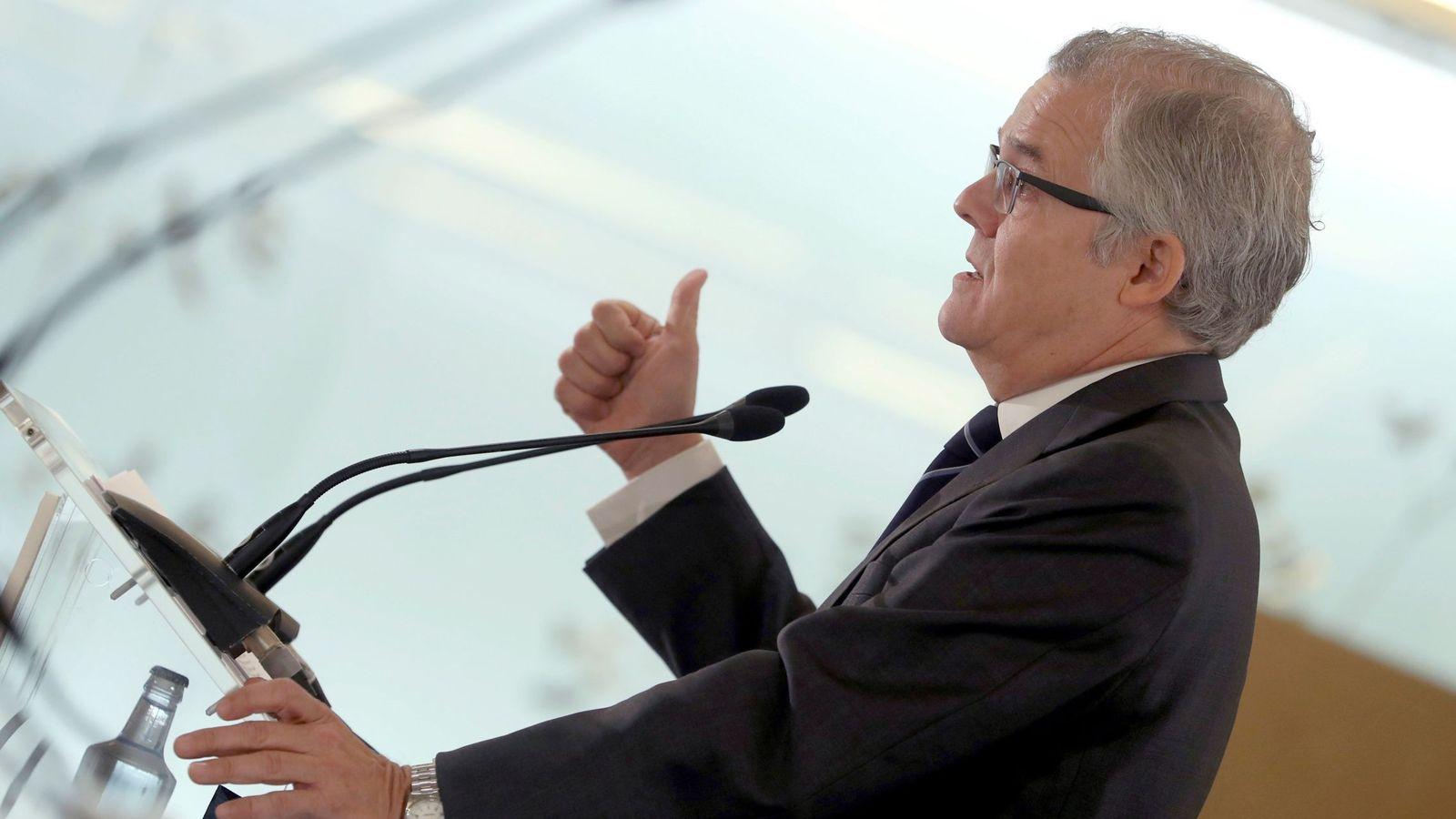 Foto: Sebastián Albella, presidente de la CNMV (Efe)