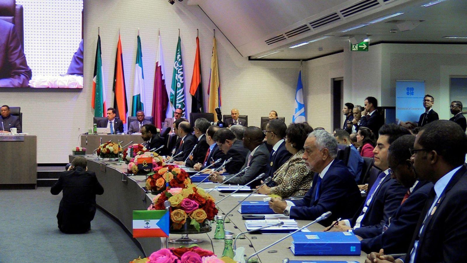 Foto: Reunión de la OPEP. (EFE)