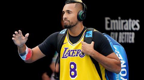 El emotivo homenaje de Kyrgios a Kobe Bryant en el Open de Australia