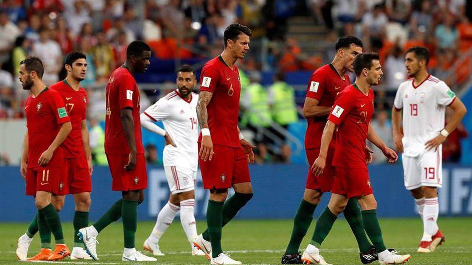 Foto: Irán-Portugal. (EFE)