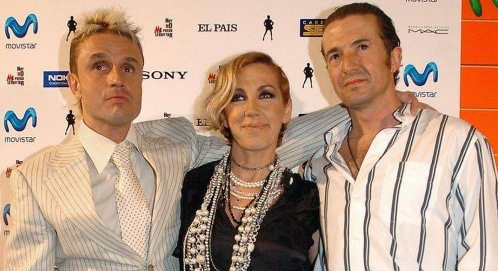 Foto: Nacho, Ana y José María: Mecano. (EFE)