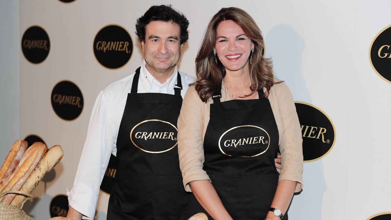 Fabiola con Pepe Ramírez, de 'MasterChef'. (Gtres)
