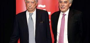 Post de Mario Vargas Llosa, el mejor apoyo para su hijo divorciado en un día muy especial