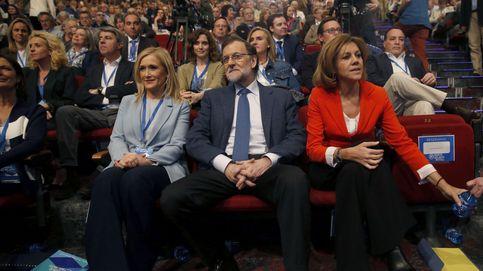 Rajoy pide unidada en torno a Cifuentes y Cospedal ensalza al referente Aguirre