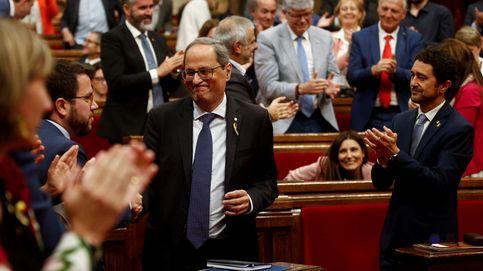 La moción de censura de Cs apuntala a Torra al darle el apoyo de CUP y 'comuns'