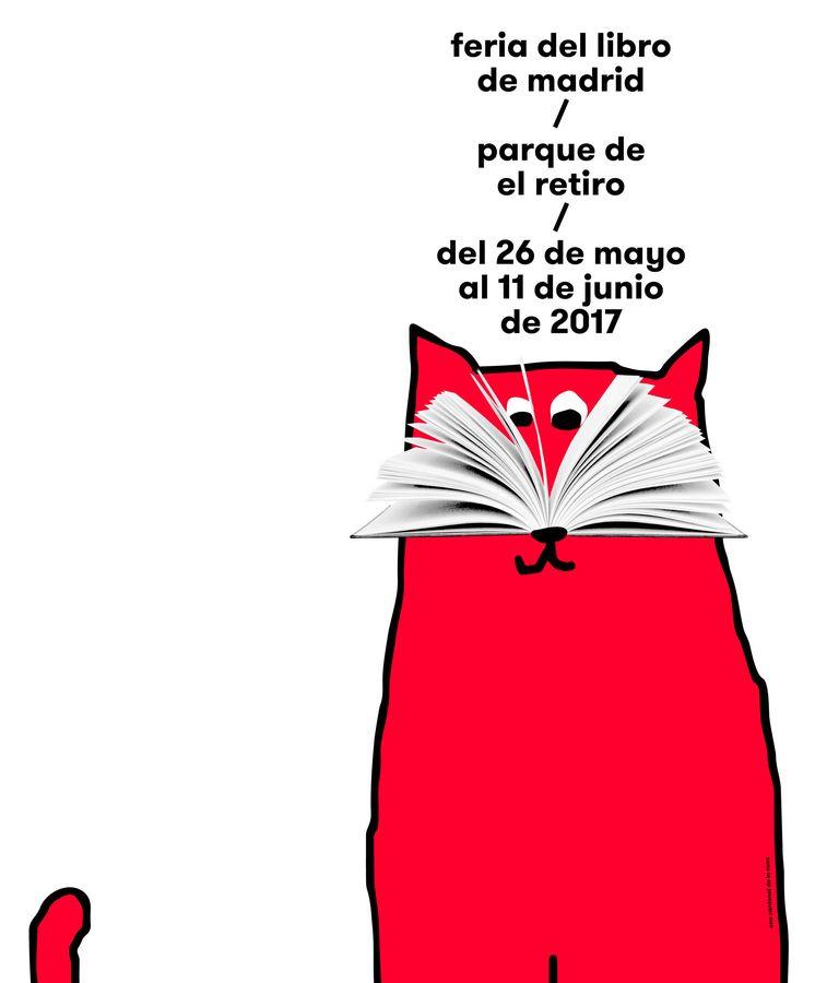 Foto: Cartel de la Feria del Libro de Madrid 2017, por Ena Cardenal de la Nuez.