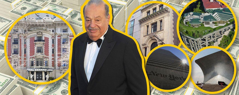 Foto: El empresario de telecomunicaciones Carlos Slim posee propiedades repartidas por importantes ciudades (Vanitatis)