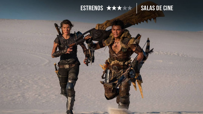 'Monster hunter': Milla Jovovich hace la competencia a King Kong y Godzilla