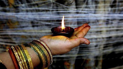 Ritual religioso en Bombay
