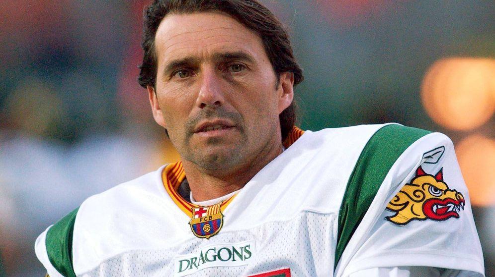 Foto: Jesús Angoy se convirtió en el mejor 'kicker' de NFL europea con los Barcelona Dragons. (Imago)