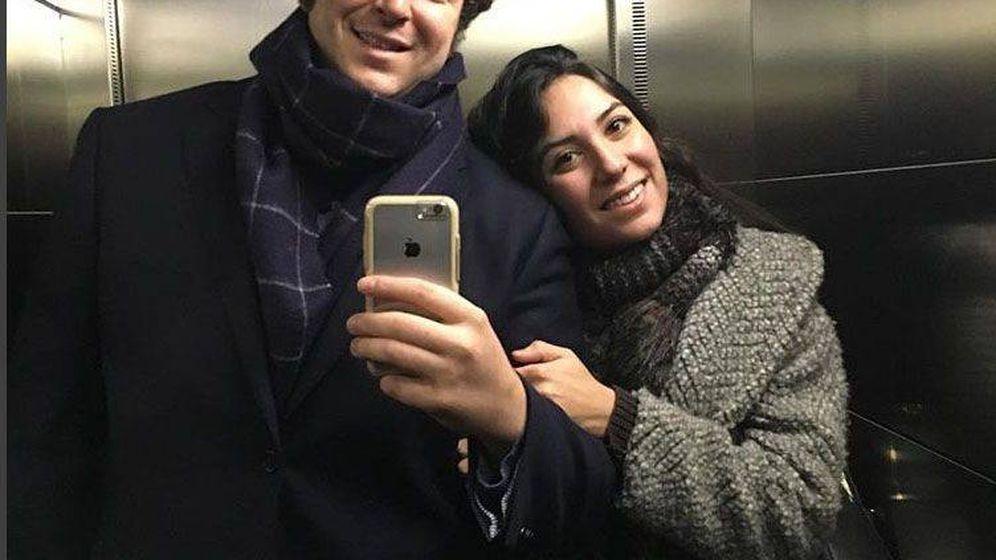 Foto: La pareja en una foto subida a redes sociales. (Instagram)