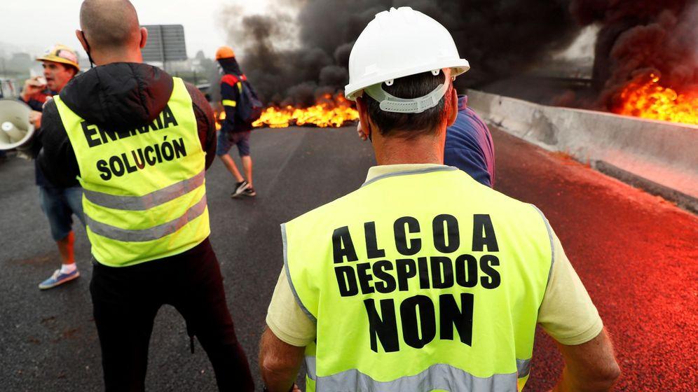Foto: Trabajadores de Alcoa