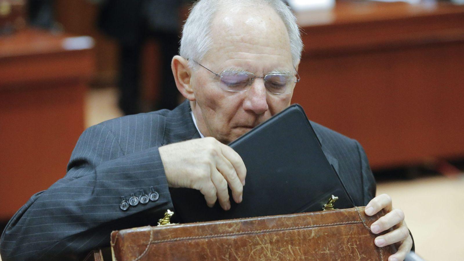 Foto: Wolfgang Schäuble, ministro de Finanzas alemán. (Ede/Olivier Hoslet)