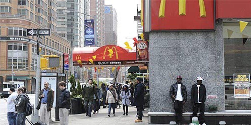 Foto: Te vas a Londres, trabajas en McDonalds y luego te contrata Goldman Sachs